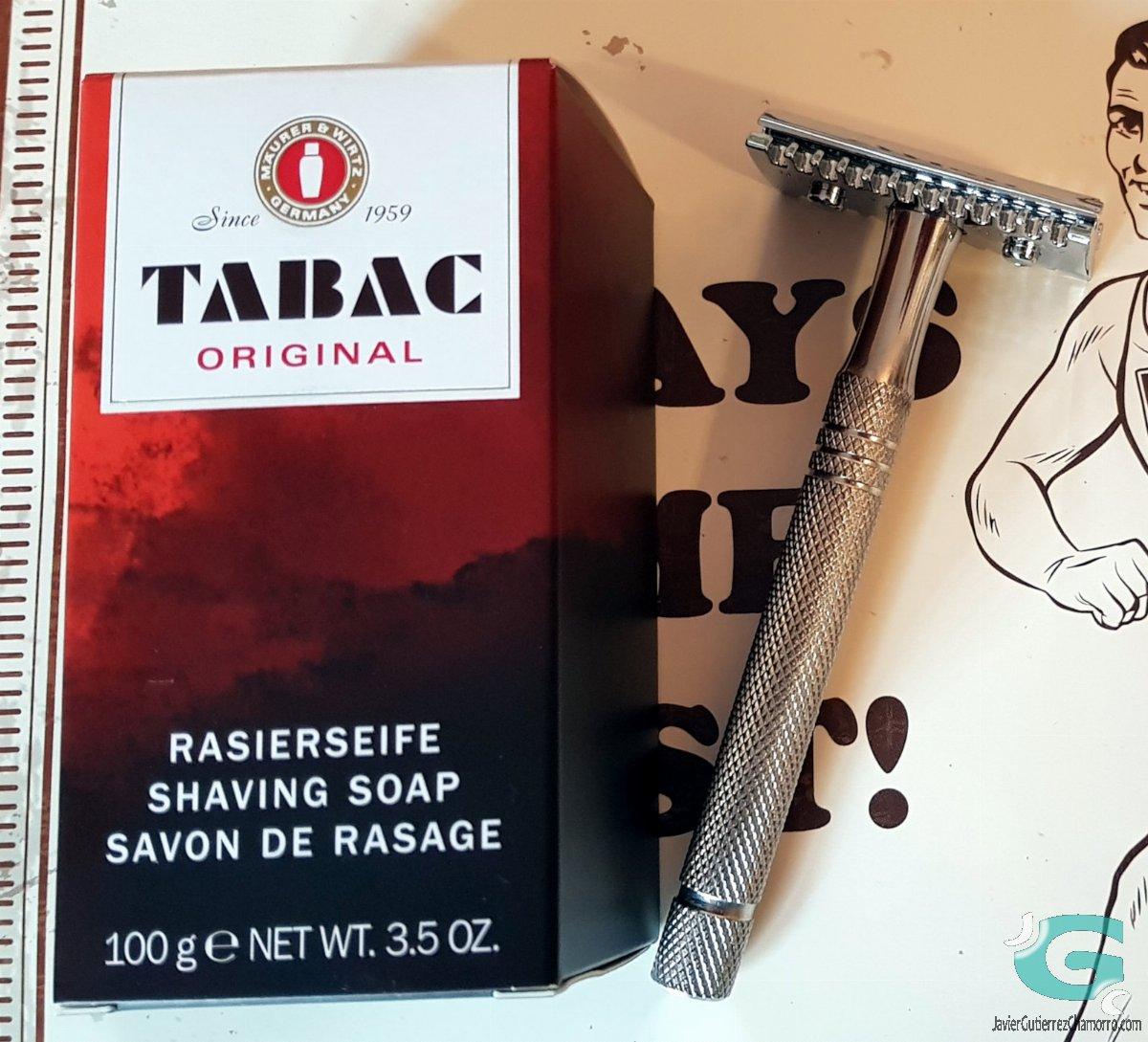 Análisis de barras de jabón de afeitar