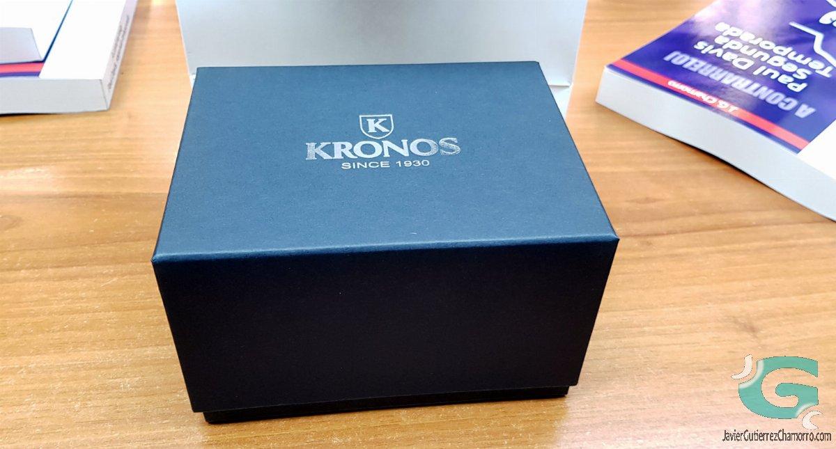 Visita a Kronos (Kronos Vintage Automatic y Paul Davis)