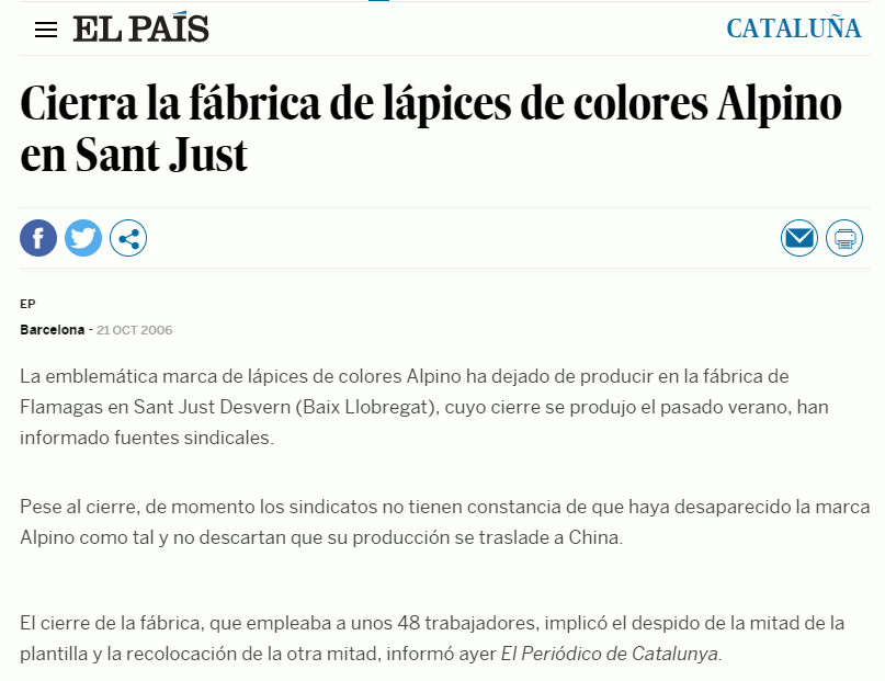 El reclamo del Made in Spain