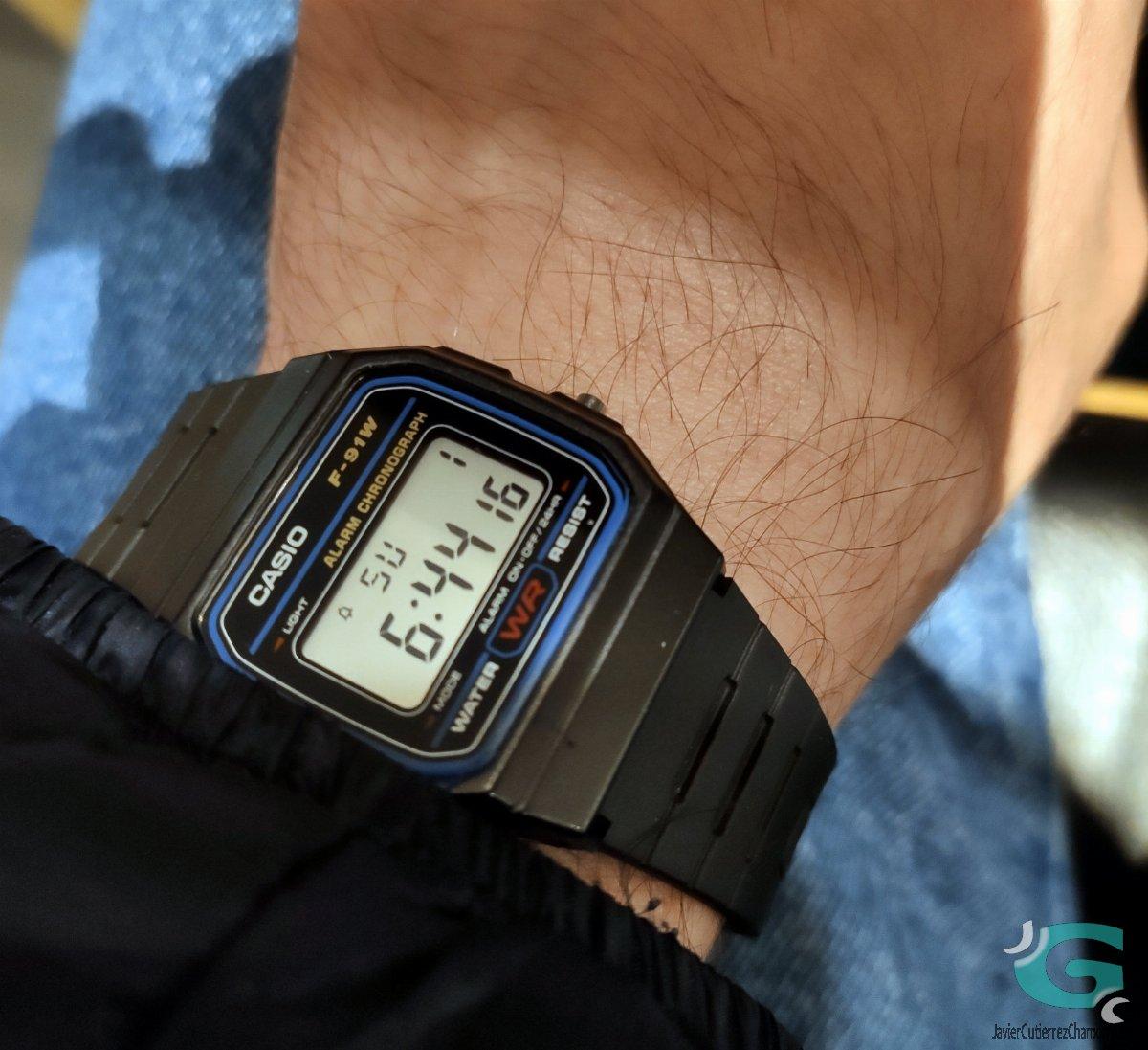 Un reloj en la manga