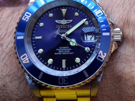 Invicta Pro Diver 9094OB. English review