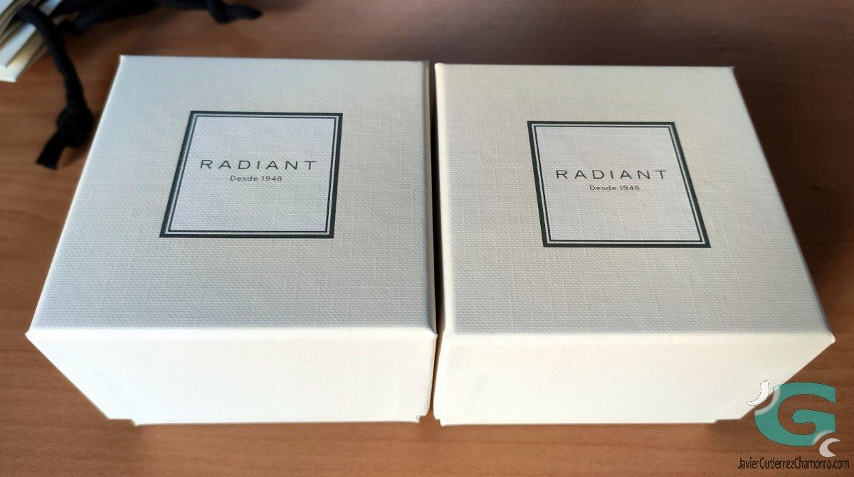Una modelo y un Radiant