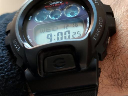Casio GW-6900. Comprar un reloj por segunda vez