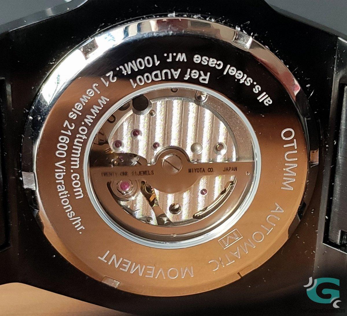 OTUMM Automatic Calendario (AUD001)