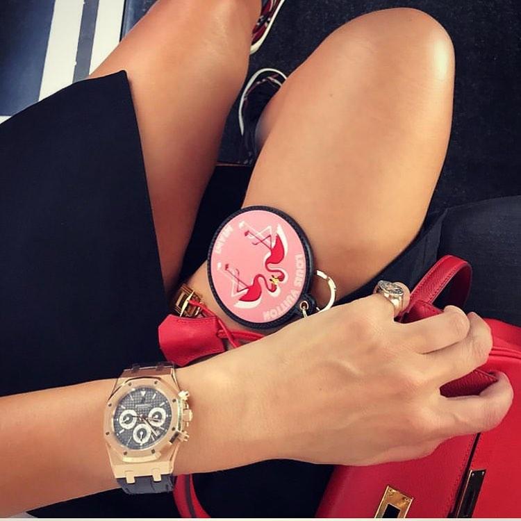 Los relojes de la chicas del Instagram
