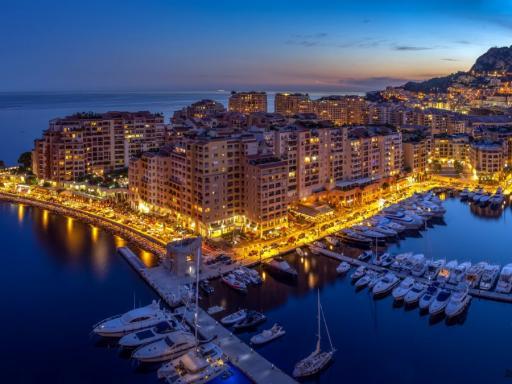 El PIB per cápita de Mónaco y otros países