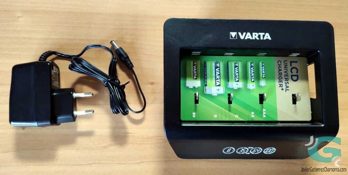 Cargadores de pilas Varta LCD Ultra Fast Charger+ y Varta LCD Universal Charger+