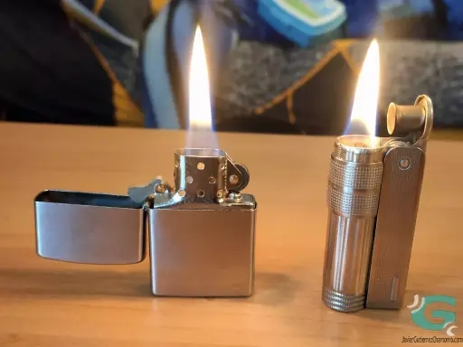 Comparativa de encendedores de gasolina: Champ contra IMCO