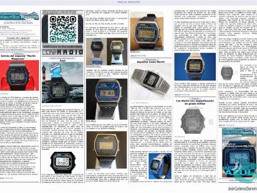 Marlin Magazine y Siempre Casio