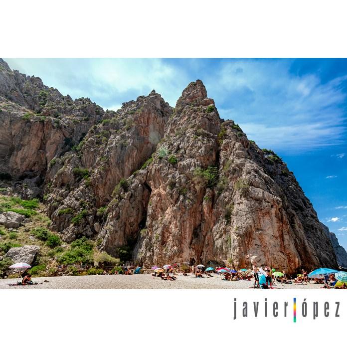 2019 Sa Calobra . Torrent de Pareis . Mallorca (playa)