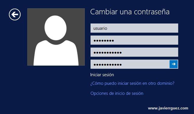 Cómo cambiar la constraseña del usuario en Escritorio Remoto Windows 03