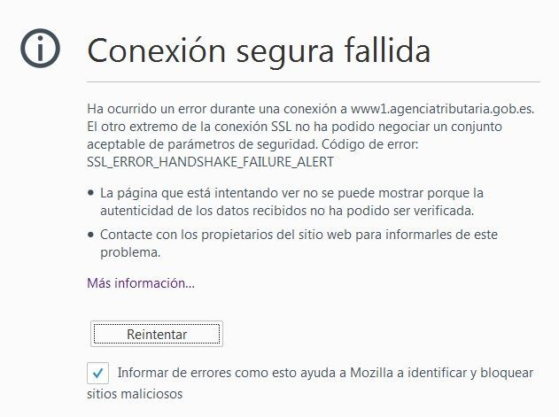 Error SSL Firefox