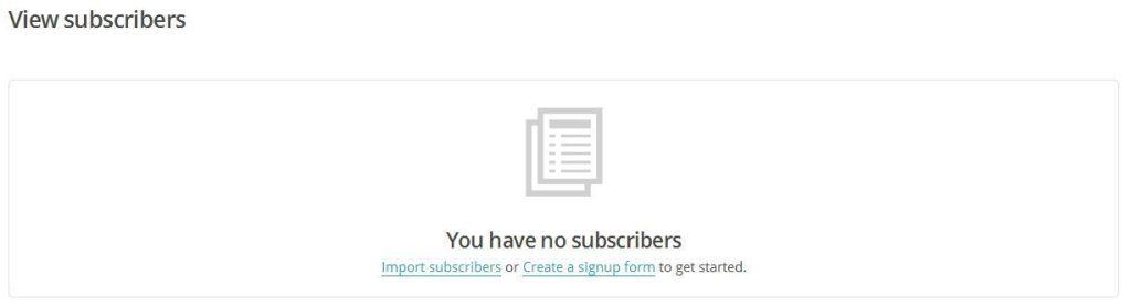 Importar Suscriptores en MailChimp 02