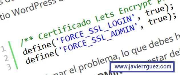 Wordpress Constant FORCE_SSL_ADMIN already defined