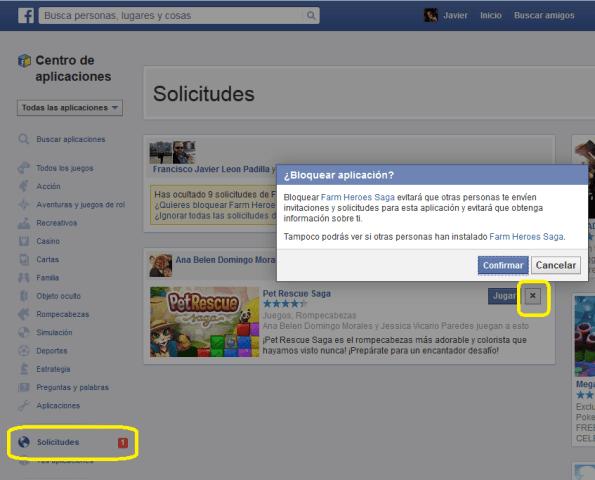 Facebook-BloquearInvitacionesJuegos2