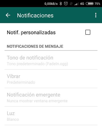 Silenciar grupos de WhatsApp de manera individual 3