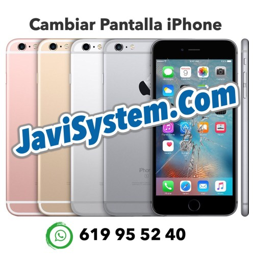 Cambio de pantalla rota iPhone 6s Plus