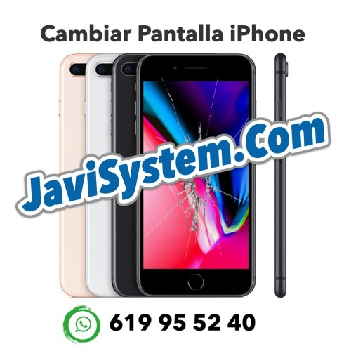 Cambio de pantalla rota iPhone 8 Plus