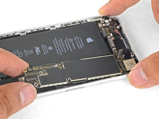 Cambiar Placa Base iPhone 8