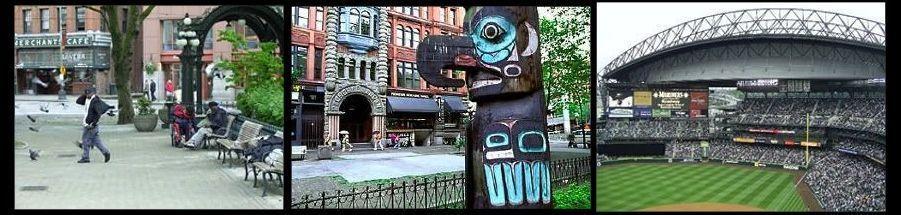 El viejo downtown de Seattle, resurgir de las cenizas