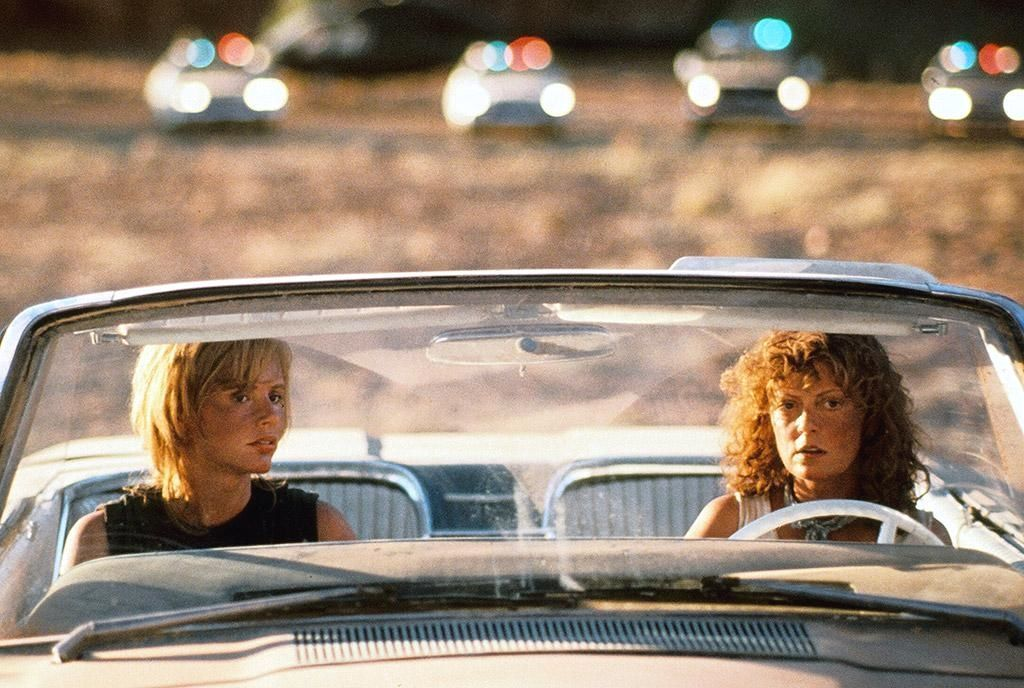 Thelma y Louise en el Ford Thunderbird del '66