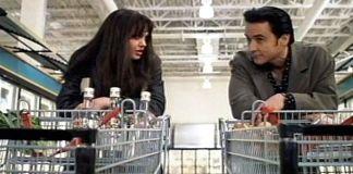 """Angelina Jolie y John Cusack en """"Fuera de Control"""" (""""Pushing Tin"""", 1999)"""