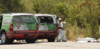 Asesinato de Rodolfo Torre en Tamaulipa (Foto EFE)