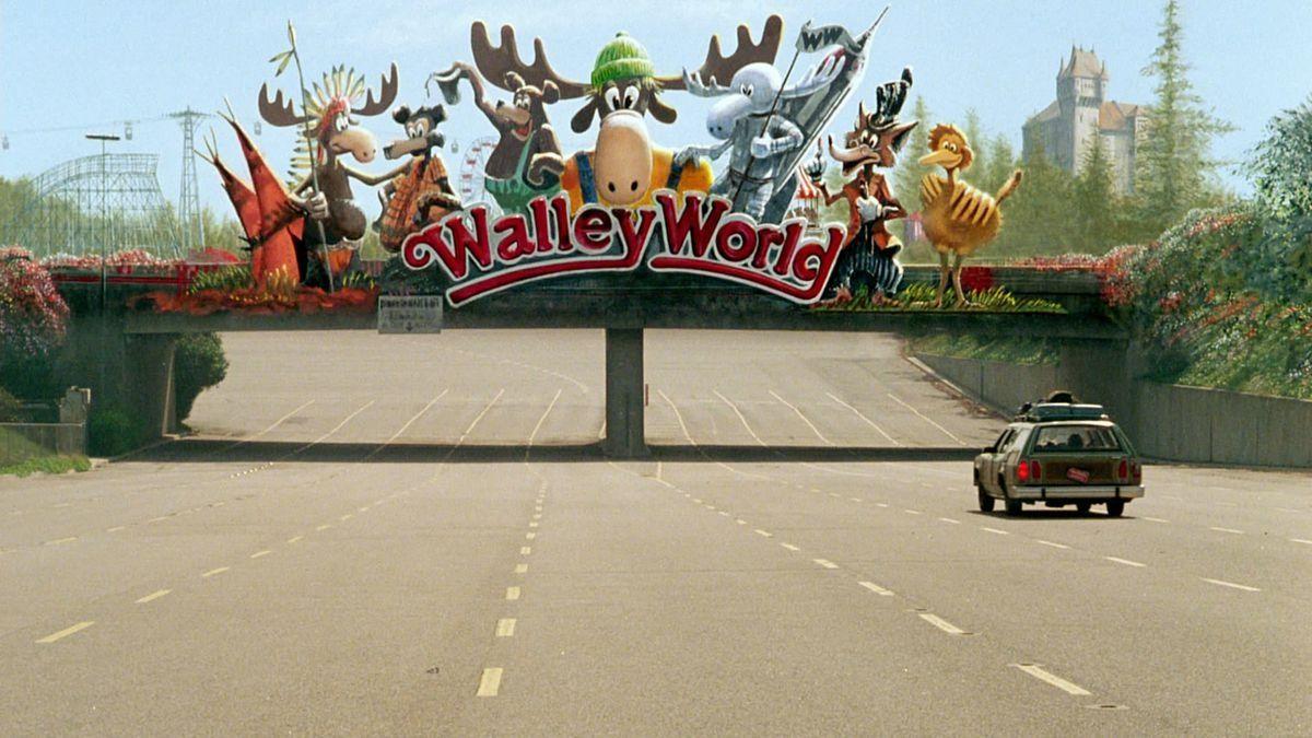 Llegando a Walley World en