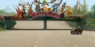 "Llegando a Walley World en ""Las vacaciones de una chiflada familia americana"" (National Lampoon's Vacation)"