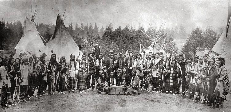 Tribu Salish en 1903
