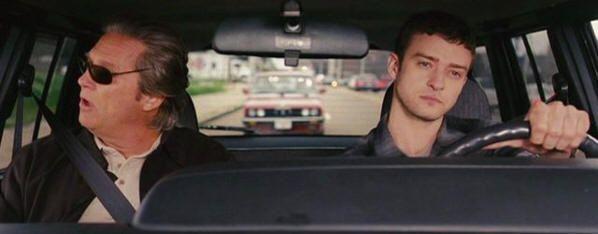 Jeff Bridges y Justin Timberlake en