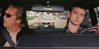 "Jeff Bridges y Justin Timberlake en ""The Open Road"" (2009)"