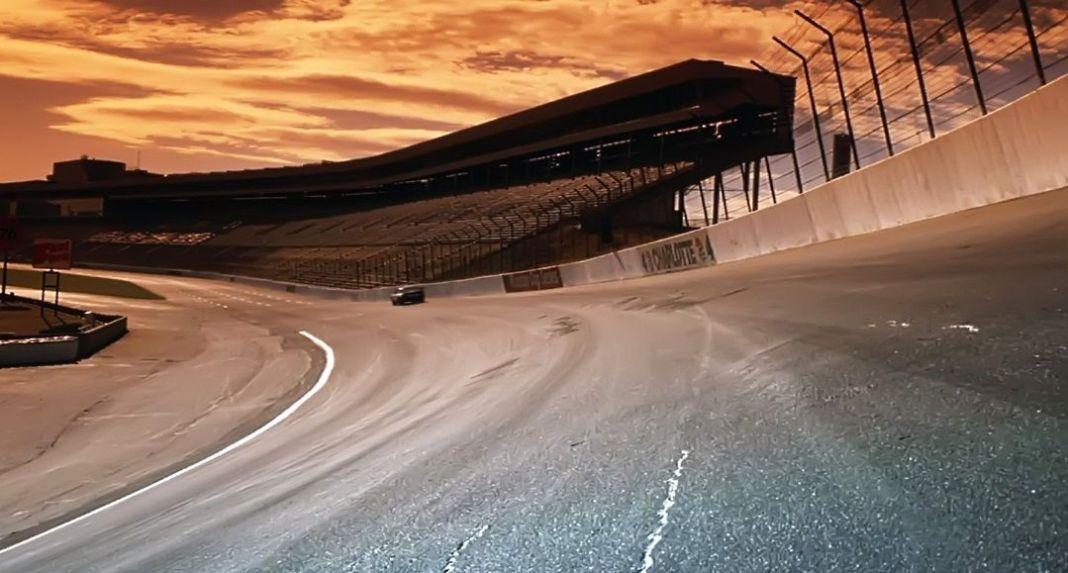 Las carrera de la NASCAR en