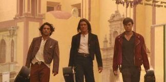 """Antonio Banderas y Enrique Iglesias en """"El Mexicano"""" (""""Once Upon a Time in Mexico"""")"""