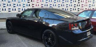Dodge Charger recién pintado