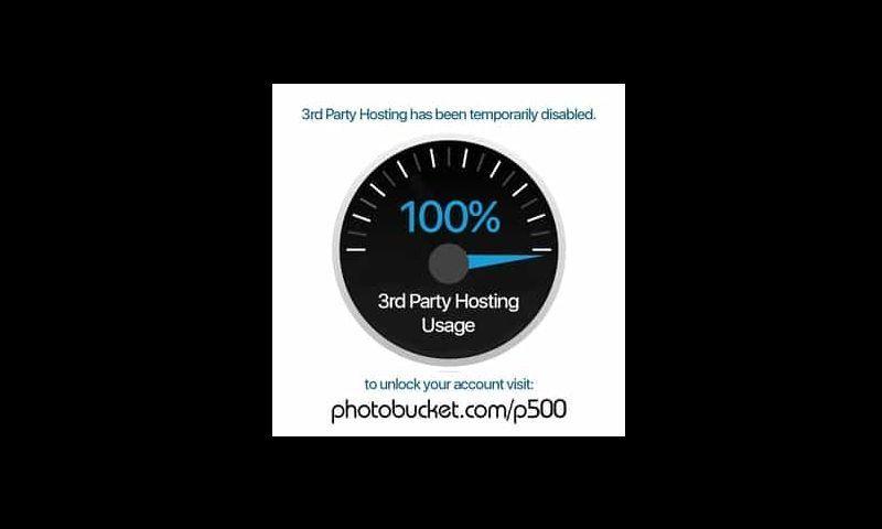 Con este desagradable aspecto Photobucket decide modificar sin previo aviso sus condiciones de uso y pide a sus usuarios un rescate de 400 dólares para poder seguir mostrando las imágenes mediante