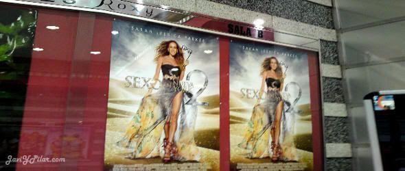 Sexo en Nueva York 2 en el cine Roxy (Valladolid)