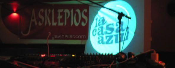 LA CASA AZUL en la Sala Asklepios (Valladolid). 22 de abril de 2006