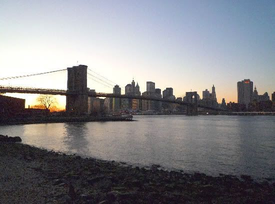 Vista de Manhattan desde Brooklyn