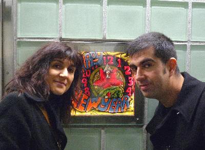 ¡¡ Feliz 2009 desde el metro de Nueva York !!