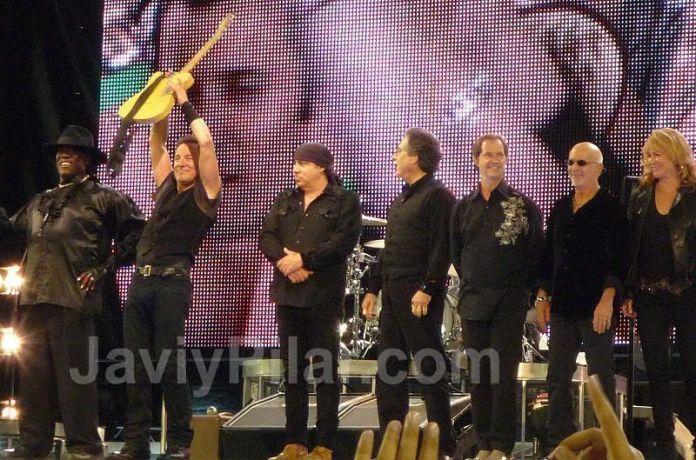 Bruce Springsteen en Valladolid (2009)