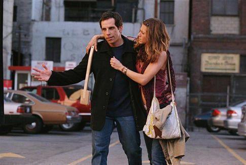 """Ben Stiller y Jennifer Aniston en """"Y Entonces Llegó Ella"""" (""""Along Came Polly"""", 2004)"""