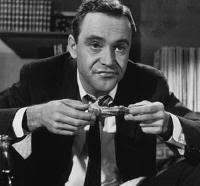 "Jack Lemmon es C.C.Baxter en ""El Apartamento"" (""The Apartment""). Billy Wilder, 1960"