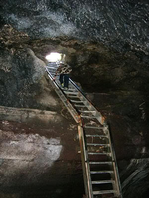 Ape Caves (Foto de Janice Van Cleve)