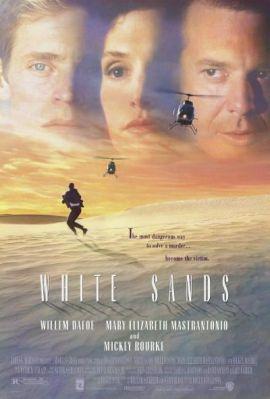 """Cartel de """"Arenas Blancas"""" (""""White Sands"""", 1992)"""
