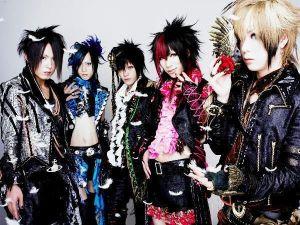 La banda AYABIE, ejemplo de visual kei