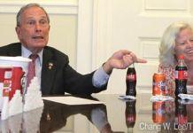 el actual alcalde de Nueva York, Michael Bloomberg, que ha propuesto prohibir la venta de bebidas grandes