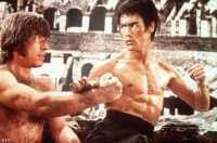 Bruce Lee contra Chuck Norris