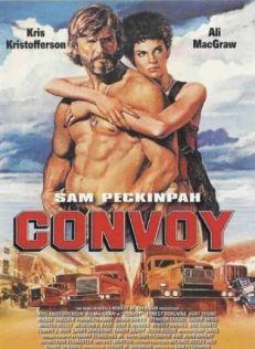 """Cartel de """"Convoy"""" (Sam Peckinpah, 1978)"""