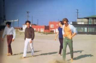 The Doors en la playa de Venice (Los Angeles, California)